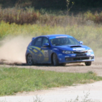 Drifting with a Subaru Impreza