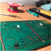 myphone v2 pcb progress 1