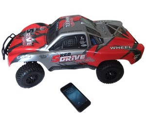 rc car 1:8 scale with iphone
